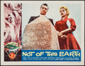 "Movie Posters:Science Fiction, Not of This Earth (Allied Artists, 1957). Lobby Card (11"" X 14"").Science Fiction.. ..."