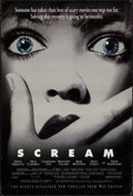"Movie Posters:Horror, Scream (Dimension, 1996). One Sheet (27"" X 40"") SS Advance. Horror.. ..."