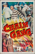"Movie Posters:Crime, Chain Gang (Columbia, 1950). One Sheet (27"" X 41""). Crime.. ..."