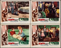 """Movie Posters:Bad Girl, Date Bait (Filmgroup, 1960). Lobby Cards (4) (11"""" X 14""""). BadGirl.. ... (Total: 4 Items)"""