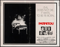 """The Manitou & Other Lot (Avco Embassy, 1978) Folded, Overall Grade: Fine. Half Sheet (22"""" X 28"""") & Ins..."""