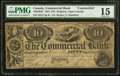 Canadian Currency, Kingston, UC- Commercial Bank of the Midland District $10 Jan. 2, 1854. ...