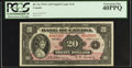 Canadian Currency: , BC-9a $20 1935.. ...