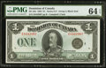 Canadian Currency, DC-25o $1 1923.. ...