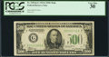 Small Size:Federal Reserve Notes, Fr. 2202-G $500 1934A Federal Reserve Note. PCGS Very Fine 30.. ...