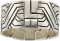 Silver & Vertu:Smalls & Jewelry, A Hector Aguilar Mexican Silver Bracelet, Taxco, circa 1948-1962. Marks: HA (intertwined), .940, TAXCO, MEXICO, (eag...