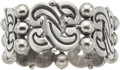 Silver Smalls, A Hector Aguilar Mexican Silver Cloud and Ball Bracelet, Taxco,circa 1940-1945. Marks: HA (conjoined), TAXCO, 940....