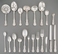 Silver Flatware, American:Tiffany, A One Hundred and Fifty-Four Piece Assembled Tiffany & Co.English King Pattern Silver Flatware Service, New Yor...(Total: 154 Items)