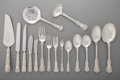 Silver Flatware, American, A One Hundred and Twenty-Piece Tiffany & Co. EnglishKing Pattern Flatware Service, New York, designed 1885. Mar...(Total: 120 Items)