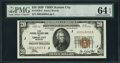 Small Size:Federal Reserve Bank Notes, Fr. 1870-J $20 1929 Federal Reserve Bank Note. PMG Choice Uncirculated 64 EPQ.. ...