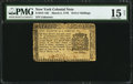 Colonial Notes:New York, New York March 5, 1776 $1/8 PMG Choice Fine 15 Net.. ...