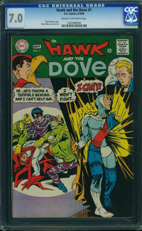 Hawk and the Dove #1 (DC, 1968) CGC FN/VF 7.0 Cream to off-white pages