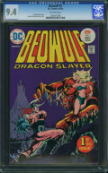 Bronze Age (1970-1979):Superhero, Beowulf #1 (DC, 1975) CGC NM 9.4 Off-white pages.