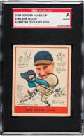 Baseball Cards:Autographs, Signed 1938 Goudey Bob Feller #288 SGC Authentic. ...