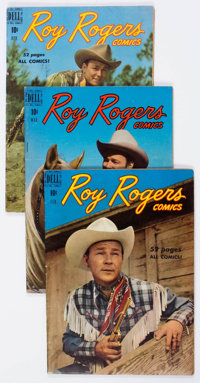 Roy Rogers Comics #26-44 Group (Dell, 1950-51) Condition: Average VG.... (Total: 19 Comic Books)