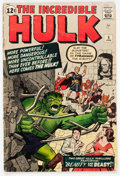 Silver Age (1956-1969):Superhero, The Incredible Hulk #5 (Marvel, 1963) Condition: GD/VG....