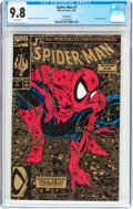 Modern Age (1980-Present):Superhero, Spider-Man #1 Gold Edition 2nd Printing (Marvel, 1990) CGC NM/MT 9.8 White pages....