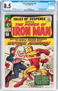 Tales of Suspense #58 (Marvel, 1964) CGC VF+ 8.5 Off-white to white pages