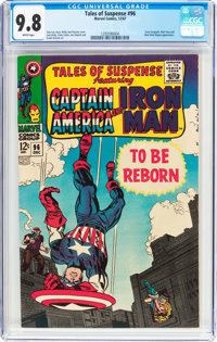 Tales of Suspense #96 (Marvel, 1967) CGC NM/MT 9.8 White pages