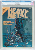 Magazines:Science-Fiction, Heavy Metal #1 (HM Communications, 1977) CGC NM+ 9.6 Off-white to white pages....