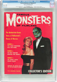 Famous Monsters of Filmland #1 (Warren, 1958) CGC FN 6.0 Off-white to white pages