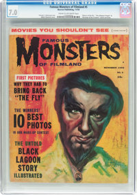Famous Monsters of Filmland #5 (Warren, 1959) CGC FN/VF 7.0 Cream to off-white pages