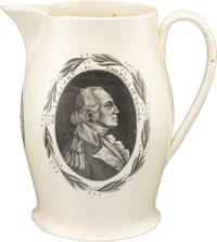 "George Washington: ""Patriot without Reproach"" Liverpool Pitcher"