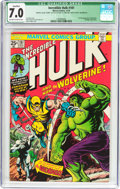 Bronze Age (1970-1979):Superhero, The Incredible Hulk #181 Incomplete (Marvel, 1974) CGC QualifiedFN/VF 7.0 Off-white to white pages....