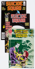 Modern Age (1980-Present):Superhero, Suicide Squad Near-Complete Series Group of 66 (DC, 1987-92) Condition: Average FN/VF.... (Total: 66 Comic Books)