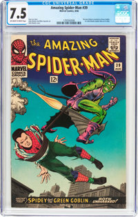 The Amazing Spider-Man #39 (Marvel, 1966) CGC VF- 7.5 Off-white to white pages