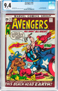 Bronze Age (1970-1979):Superhero, The Avengers #93 (Marvel, 1971) CGC NM 9.4 White pages....