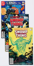 Modern Age (1980-Present):Superhero, Saga of the Swamp Thing Group of 94 (DC, 1982-90) Condition:Average FN/VF.... (Total: 94 Comic Books)