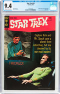 Silver Age (1956-1969):Science Fiction, Star Trek #5 (Gold Key, 1969) CGC NM 9.4 Off-white to white pages....