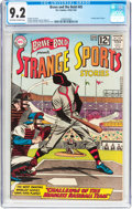 Silver Age (1956-1969):Horror, The Brave and the Bold #45 Strange Sports Stories (DC, 1963) CGCNM- 9.2 Off-white to white pages....