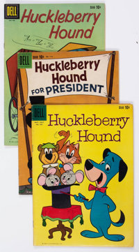 Huckleberry Hound Group of 31 (Dell, 1959-70) Condition: Average VG.... (Total: 31 Comic Books)