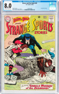 Silver Age (1956-1969):Adventure, The Brave and the Bold #49 Strange Sports Stories (DC, 1963) CGC VF 8.0 Off-white to white pages....