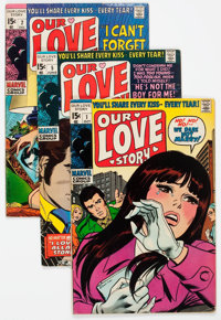 Our Love Story Group of 27 (Marvel, 1969-75) Condition: Average VG+.... (Total: 27 Comic Books)