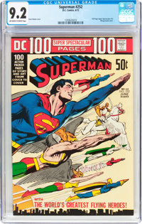 Superman #252 (DC, 1972) CGC NM- 9.2 Off-white to white pages