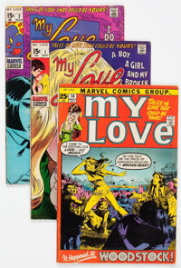My Love (2nd series) Group 27 (Marvel, 1969-74) Condition: Average VG+.... (Total: 27 Comic Books)