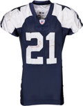 Football Collectibles:Uniforms, 2006 Julius Jones Game Worn, Unwashed Dallas Cowboys Throwback Jersey and Pants....
