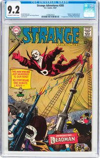Strange Adventures #205 (DC, 1967) CGC NM- 9.2 Off-white to white pages