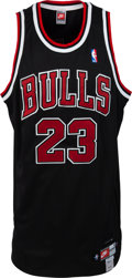 Basketball Collectibles:Uniforms, 2000's Michael Jordan Signed Chicago Bulls UDA Jersey. ...