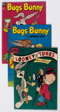 Golden Age (1938-1955):Cartoon Character, Bugs Bunny Group of 26 (Dell, 1953-62) Condition: Average GD....(Total: 26 Comic Books)