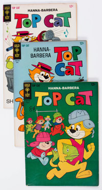 Hanna-Barbera Silver Age Group of 74 (Gold Key, 1960s) Condition: Average GD/VG.... (Total: 74 Comic Books)