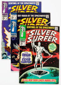 The Silver Surfer #1-18 Group (Marvel, 1968-70) Condition: Average VG/FN.... (Total: 18 Comic Books)