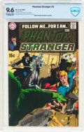 Silver Age (1956-1969):Horror, The Phantom Stranger #3 (DC, 1969) CBCS NM+ 9.6 Off-white to whitepages....