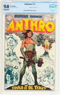 Silver Age (1956-1969):Adventure, Showcase #74 Anthro (DC, 1968) CBCS NM/MT 9.8 Off-white to white pages....