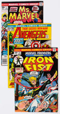 Bronze Age (1970-1979):Superhero, Marvel Bronze and Modern Age Comics Group of 47 (Marvel, 1970-87) Condition: Average VG.... (Total: 47 Comic Books)