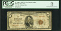 National Bank Notes:West Virginia, Fairmont, WV - $5 1929 Ty. 2 First NB Ch. # 13811. ...