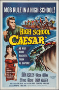 "Movie Posters:Exploitation, High School Caesar (Filmgroup, 1960). One Sheet (27"" X 41"").Exploitation.. ..."